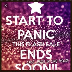 FLASH SALE ENDS IN ONE HOUR!!
